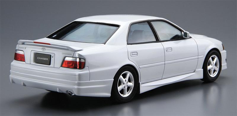 トヨタ JZX100 チェイサー ツアラーV '98プラモデル(アオシマ1/24 ザ・モデルカーNo.旧016)商品画像_3