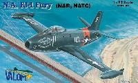 バロムモデル1/72 エアクラフト プラモデルノースアメリカン FJ-1 フューリー (NAR、NATC)