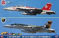 F/A-18E/F スーパーホーネット USS ロナルド レーガン CVW-5 CAG スペシャルパック Part 1
