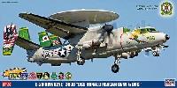 ハセガワ1/72 飛行機 限定生産E-2C ホークアイ 2000 USS ロナルド レーガン CVW-5 CAG