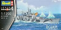 レベルShips(艦船関係モデル)イタリア海軍 戦艦 ローマ