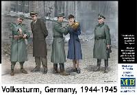 マスターボックス1/35 ミリタリーミニチュアドイツ 国民突撃隊 1944-1945
