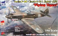 カーチス P-40C (ホーク 81-A2) 戦闘機 フライングタイガース