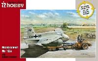 スペシャルホビー1/72 エアクラフト プラモデルメッサーシュミット Me163A w/運搬トラクター