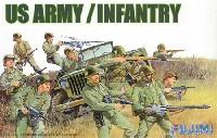 フジミ1/76 ワールドアーマーシリーズアメリカ陸軍歩兵セット