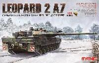 MENG-MODEL1/35 ティラノサウルス シリーズドイツ 主力戦車 レオパルト 2 A7