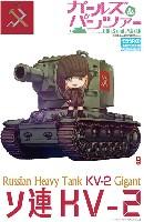 エブロガールズ&パンツァー 3Dパズルソ連 KV-2