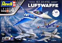 レベル1/72 飛行機ドイツ連邦空軍 60周年記念セット