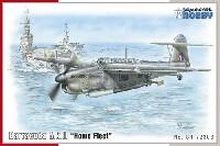 スペシャルホビー1/72 エアクラフト プラモデルフェアリー バラクーダー Mk.2 Home Fleet