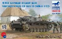 ブロンコモデル1/35 AFVモデルドイツ 3号突撃砲 E型 (Sd.Kfz.142)