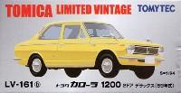 トヨタ カローラ 1200 2ドア デラックス (69年式) (黄色)
