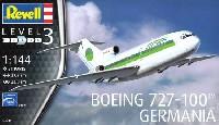 レベル1/144 旅客機ボーイング 727-100 ゲルマニア航空