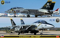 F-14A/B トムキャット ジョリーロジャース (2機セット)