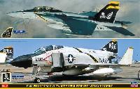 F-4J ファントム 2 & F/A-18F スーパーホーネット ジョリーロジャース