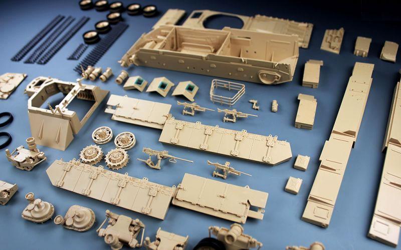 イスラエル ナグマホン 装甲兵員輸送車 前期型プラモデル(タイガーモデル1/35 AFVNo.4615)商品画像_2