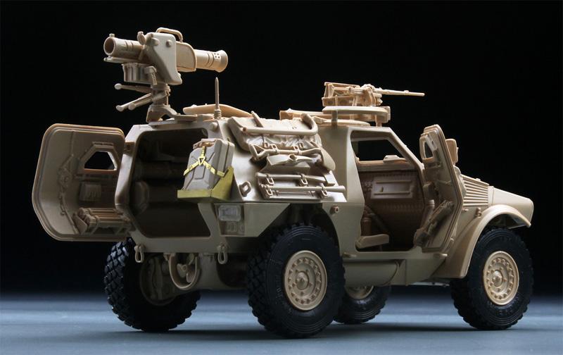パナール VBL ミラン ミサイル搭載型プラモデル(タイガーモデル1/35 AFVNo.4618)商品画像_3