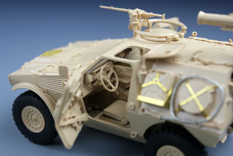 パナール VBL ミラン ミサイル搭載型プラモデル(タイガーモデル1/35 AFVNo.4618)商品画像_4