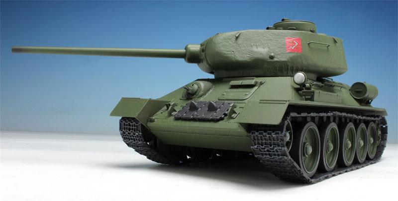 T-34/85 プラウダ高校 (ガールズ&パンツァー 劇場版)プラモデル(プラッツガールズ&パンツァーNo.GP-030)商品画像_2
