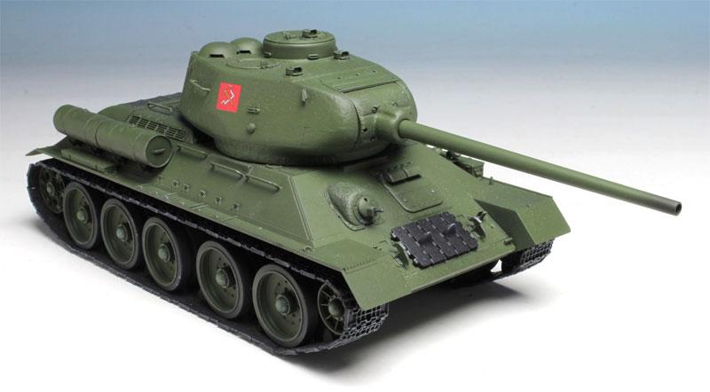 T-34/85 プラウダ高校 (ガールズ&パンツァー 劇場版)プラモデル(プラッツガールズ&パンツァーNo.GP-030)商品画像_3
