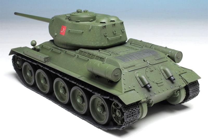 T-34/85 プラウダ高校 (ガールズ&パンツァー 劇場版)プラモデル(プラッツガールズ&パンツァーNo.GP-030)商品画像_4
