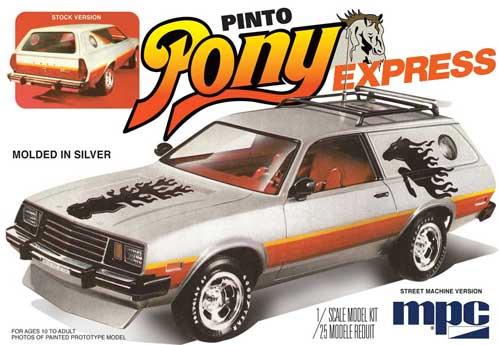 1979 フォード ピント ワゴン ポニーエクスプレスプラモデル(MPC1/25 カーモデルNo.MPC845/12)商品画像