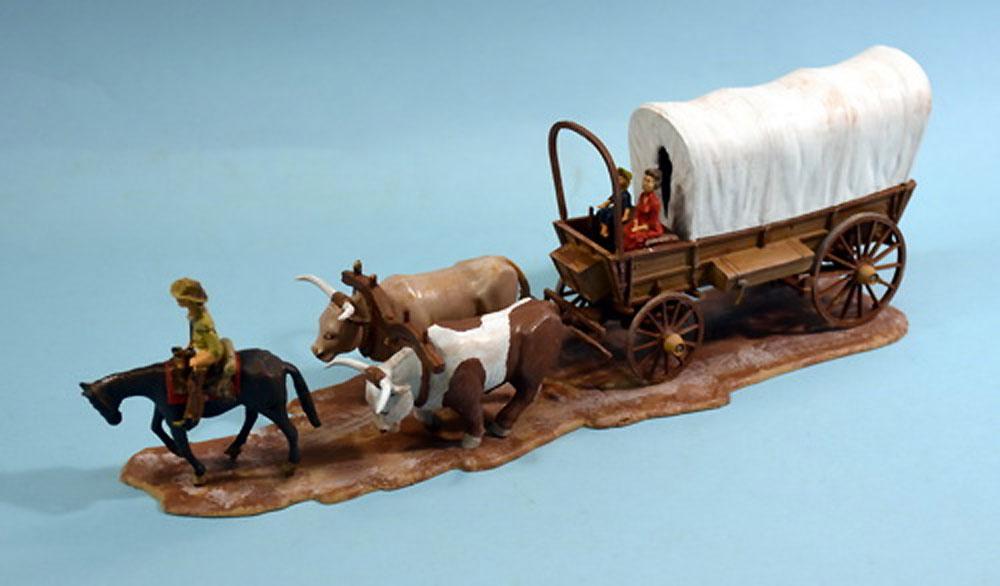 カバードワゴン (幌牛車)プラモデル(グレンコモデルプラスチックモデル組立キットNo.05402)商品画像_2