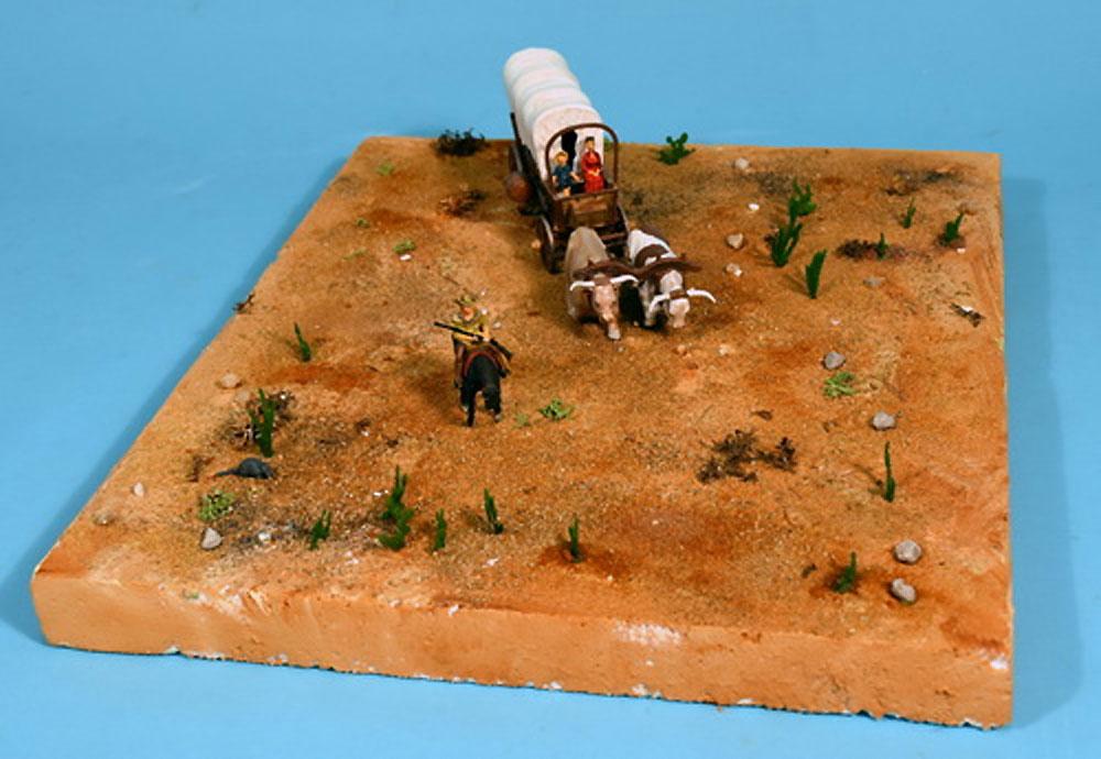 カバードワゴン (幌牛車)プラモデル(グレンコモデルプラスチックモデル組立キットNo.05402)商品画像_4