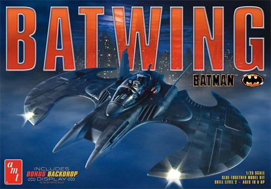 バットマン バットウイング (1989)プラモデル(amtプラスチックモデルキットNo.AMT948/12)商品画像