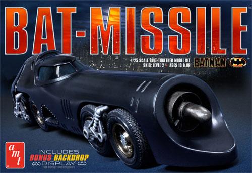 バットマン バットミサイル (1989)プラモデル(amtプラスチックモデルキットNo.AMT952/12)商品画像