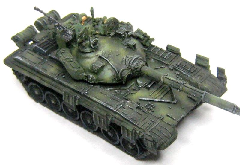 T-72 ウラルレジン(マツオカステン1/144 オリジナルレジンキャストキット (AFV)No.MTUAFV-095)商品画像_2