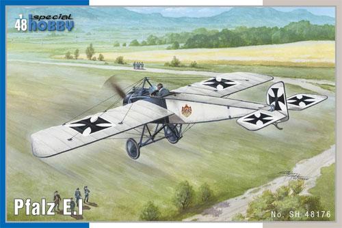 ファルツ E.1プラモデル(スペシャルホビー1/48 エアクラフト プラモデルNo.SH48176)商品画像