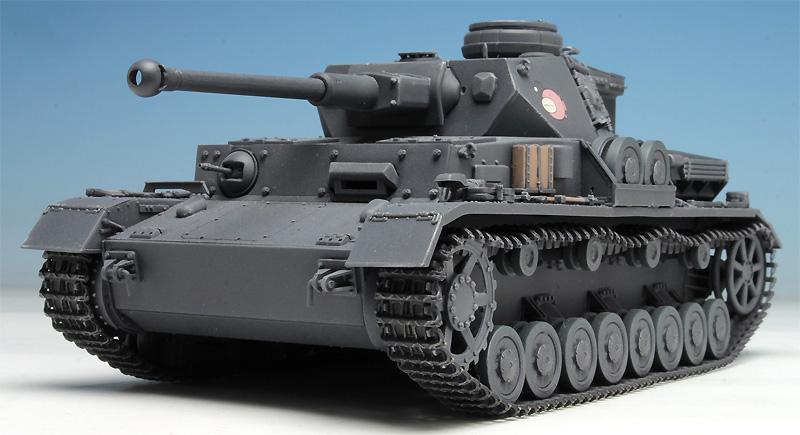 4号戦車 D型改 (F2型仕様) あんこうチーム (ガールズ&パンツァー)プラモデル(プラッツガールズ&パンツァーNo.GP-029)商品画像_2