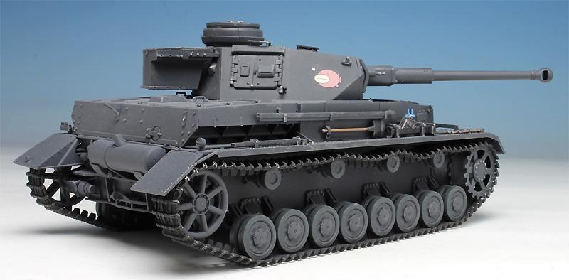 4号戦車 D型改 (F2型仕様) あんこうチーム (ガールズ&パンツァー)プラモデル(プラッツガールズ&パンツァーNo.GP-029)商品画像_3