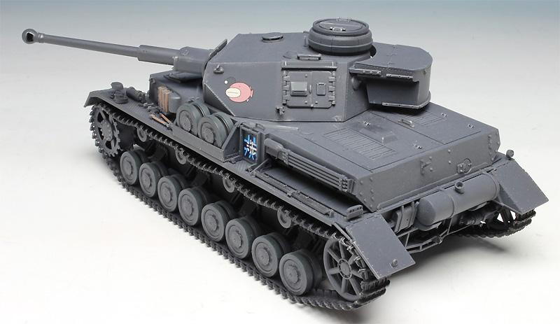4号戦車 D型改 (F2型仕様) あんこうチーム (ガールズ&パンツァー)プラモデル(プラッツガールズ&パンツァーNo.GP-029)商品画像_4
