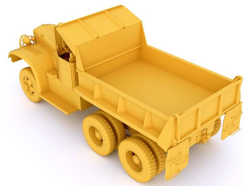 ダイアモンド T972 ダンプトラック オープンキャブプラモデル(ミラーモデルズ1/35 AFVモデルNo.35806)商品画像_3