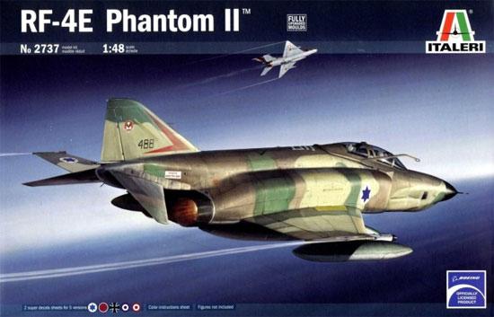 RF-4 E ファントム 2プラモデル(イタレリ1/48 飛行機シリーズNo.2737)商品画像