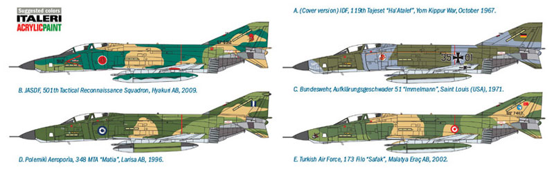 RF-4 E ファントム 2プラモデル(イタレリ1/48 飛行機シリーズNo.2737)商品画像_2