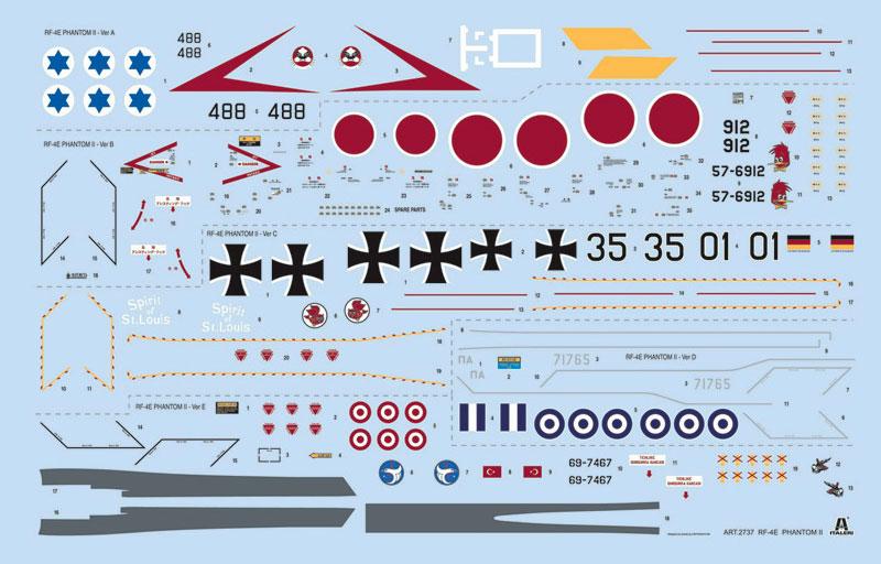 RF-4 E ファントム 2プラモデル(イタレリ1/48 飛行機シリーズNo.2737)商品画像_3