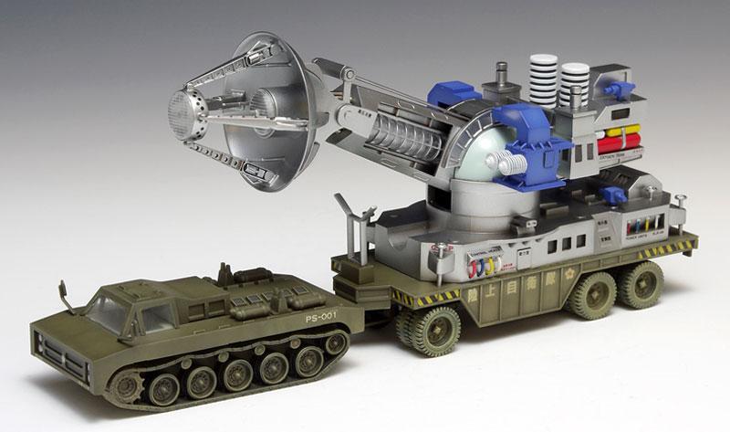 66式 メーサー殺獣光線車プラモデル(ウェーブプラスチックモデルキットNo.TO-008)商品画像_2