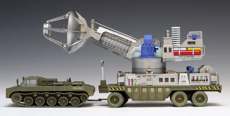 66式 メーサー殺獣光線車プラモデル(ウェーブプラスチックモデルキットNo.TO-008)商品画像_3