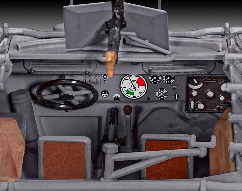 Sd.Kfz.251/1 Ausf.B グランドスツーカプラモデル(レベル1/35 ミリタリーNo.03248)商品画像_3