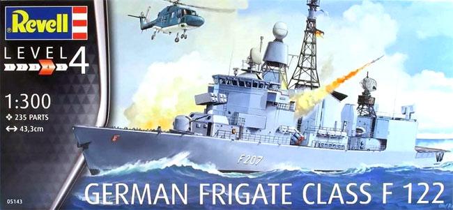 ドイツ フリゲート F122プラモデル(レベルShips(艦船関係モデル)No.05143)商品画像