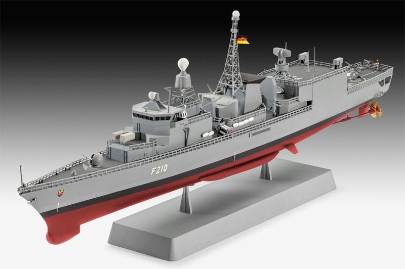 ドイツ フリゲート F122プラモデル(レベルShips(艦船関係モデル)No.05143)商品画像_2
