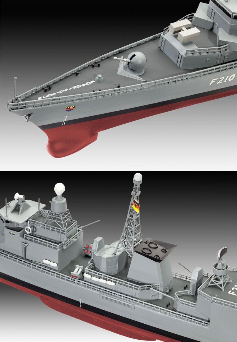 ドイツ フリゲート F122プラモデル(レベルShips(艦船関係モデル)No.05143)商品画像_3