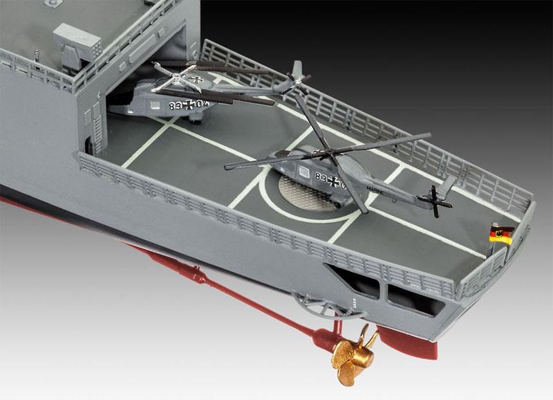 ドイツ フリゲート F122プラモデル(レベルShips(艦船関係モデル)No.05143)商品画像_4