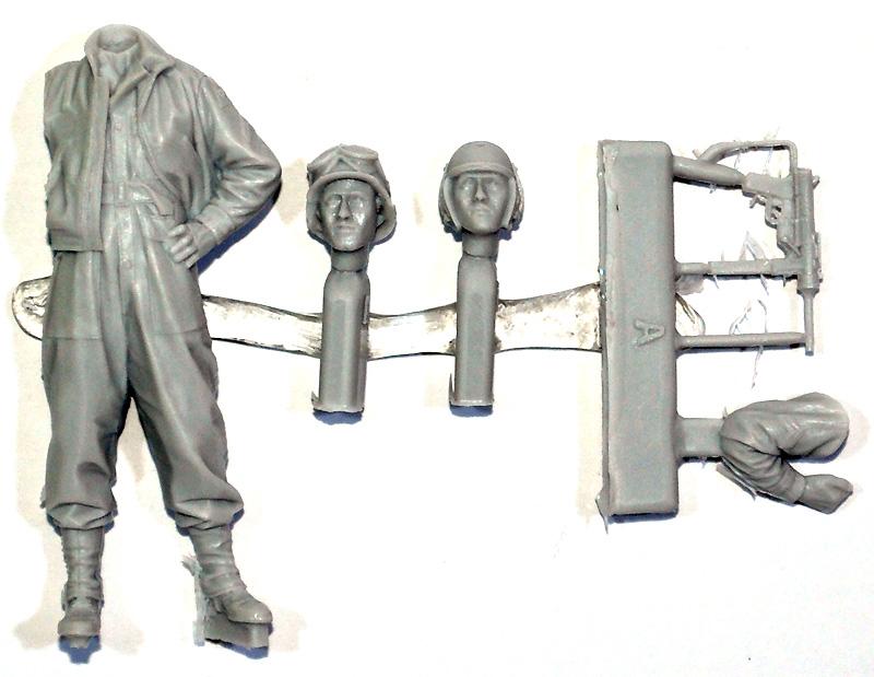 WW2 アメリカ 第3機甲師団 伍長 (HBTツナギ)レジン(アルパイン1/35 フィギュアNo.AM35217)商品画像_1