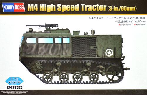 M4 ハイスピード トラクター (3インチ/90mm用)プラモデル(ホビーボス1/72 ファイティングビークル シリーズNo.82920)商品画像