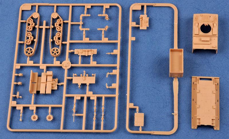 M4 ハイスピード トラクター (3インチ/90mm用)プラモデル(ホビーボス1/72 ファイティングビークル シリーズNo.82920)商品画像_1