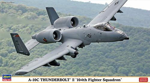 A-10C サンダーボルト 2 第104戦闘飛行隊プラモデル(ハセガワ1/72 飛行機 限定生産No.02216)商品画像