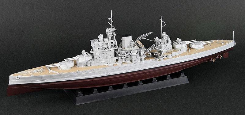 英国海軍 クイーン・エリザベス級戦艦 ヴァリアント 1939プラモデル(ピットロード1/700 スカイウェーブ W シリーズNo.W188)商品画像_2
